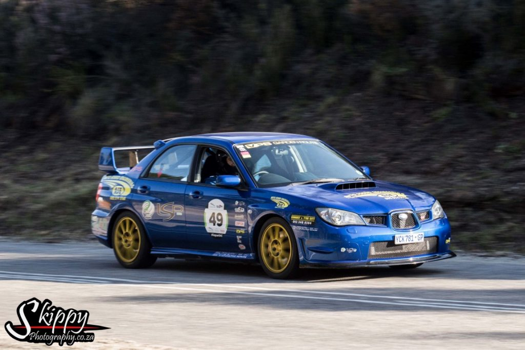 5th position Anton Cronje - WRX STI - Best Time : 40.973
